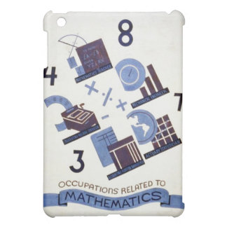 Vintage Occupations Related to Mathematics Poster iPad Mini Cover