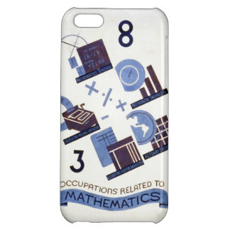 Vintage Occupations Related to Mathematics Poster iPhone 5C Cover