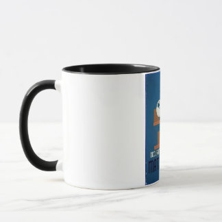 Vintage Occupations Related to Mathematics Poster Mug