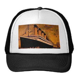 Vintage Ocean Liner Trucker Hat