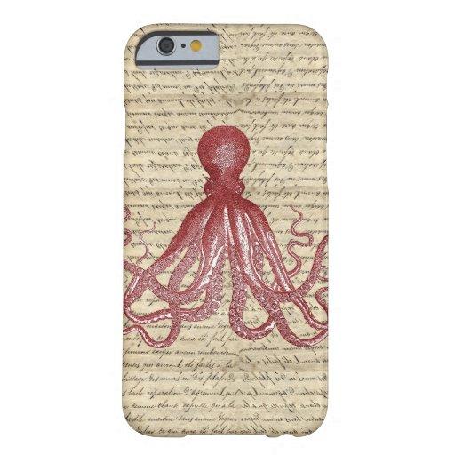Vintage octopus iPhone 6 case