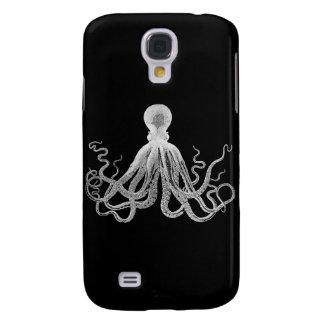 Vintage Octopus Galaxy S4 Cases