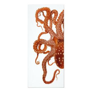 vintage octopus invitation