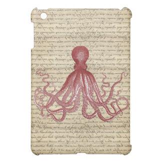 Vintage octopus iPad mini covers