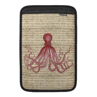 Vintage octopus MacBook sleeves
