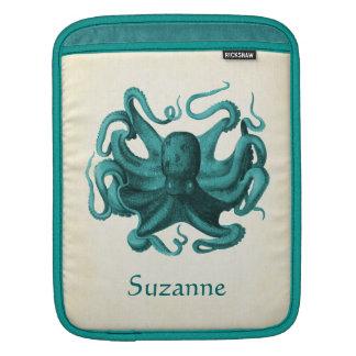 Vintage Octopus iPad Sleeve