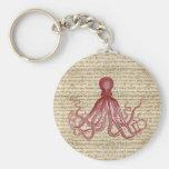Vintage octopus keychains