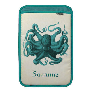 Vintage Octopus MacBook Sleeve