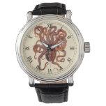 Vintage Octopus Macropus, Marine Aquatic Animals Watches