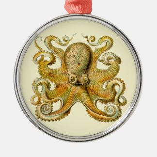 Vintage Octopus Christmas Tree Ornament