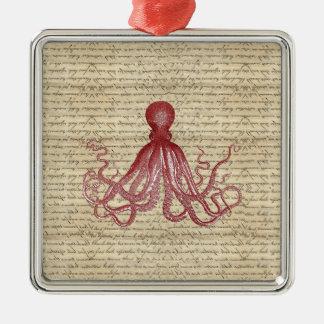 Vintage octopus ornament