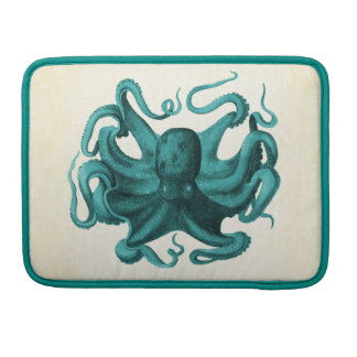 Vintage Octopus Sleeve For MacBooks