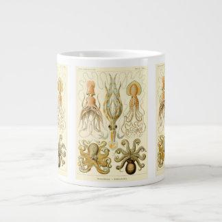 Vintage Octopus Squid Gamochonia by Ernst Haeckel Giant Coffee Mug