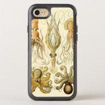 Vintage Octopus Squid Gamochonia by Ernst Haeckel OtterBox Symmetry iPhone 8/7 Case