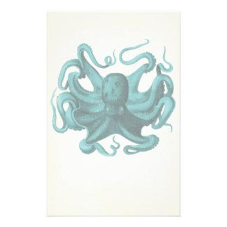 Vintage Octopus Stationery