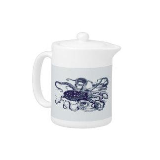 vintage octopus teapot