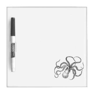 Vintage Octopus Template Dry-Erase Board