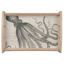 Vintage Octopus Tentacles Serving Tray