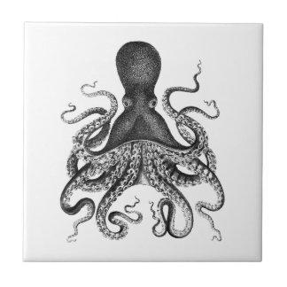 Vintage Octopus Tile