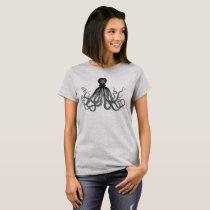 Vintage Octopus Women's T-Shirt