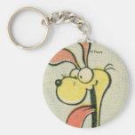 Vintage Odie, keychain