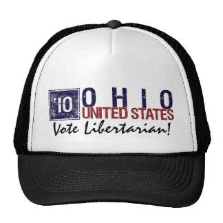 Vintage Ohio del libertario del voto en 2010 - Gorro De Camionero