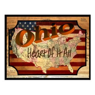 Vintage Ohio Old Postcard
