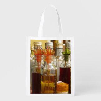 Vintage Oil Bottles Market Totes