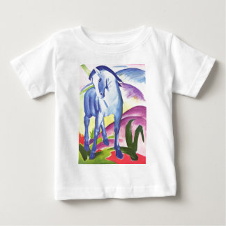 Vintage Oil On Canvas Horse From 1911 Baby T-Shirt