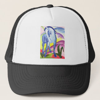 Vintage Oil On Canvas Horse From 1911 Trucker Hat