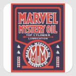 Vintage Oil sign reproduction Stickers