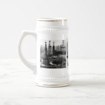 Vintage Oilfield Beer Stein
