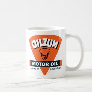 Vintage Oilzum motor oil sign Mugs