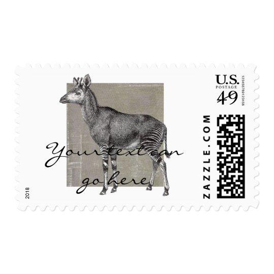 Vintage Okapi Postage