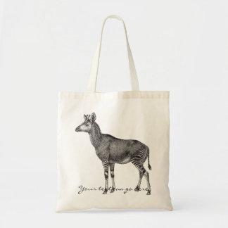 Vintage Okapi Tote Bag