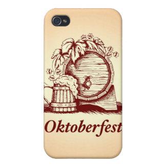 Vintage Oktoberfest iPhone 4/4S Carcasas