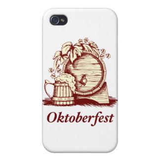 Vintage Oktoberfest iPhone 4/4S Fundas