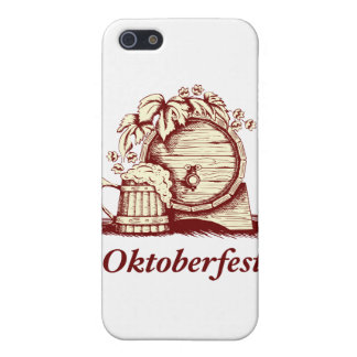 Vintage Oktoberfest iPhone 5 Cárcasa
