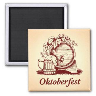 Vintage Oktoberfest Fridge Magnets