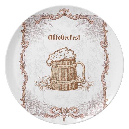 Vintage Oktoberfest Plate
