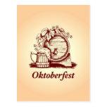 Vintage Oktoberfest Postales