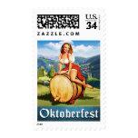 Vintage Oktoberfest Stamp