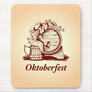 Vintage Oktoberfest Tapetes De Raton