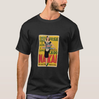 Vintage Old announcement Soups and Broths T-Shirt