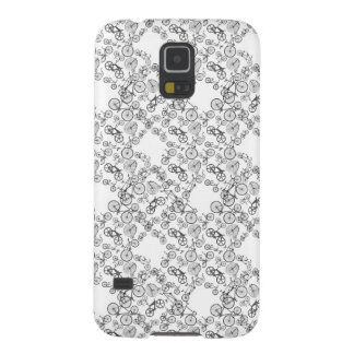 Vintage Old Bicycles pattern Galaxy S5 Cover