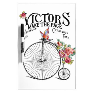 Vintage Old Bike Dry-Erase Board