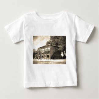 Vintage Old Building of Stone Baby T-Shirt