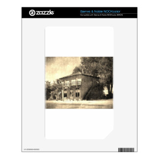 Vintage Old Building of Stone NOOK Color Decal