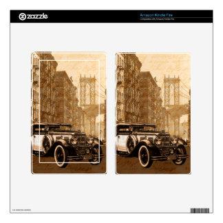 Vintage Old car Skin For Kindle Fire