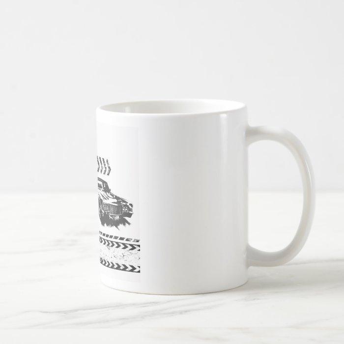 Vintage Old Cars Grunge Design Coffee Mug